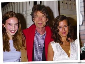 Elizabeth, Mick, Jade, James Jagger