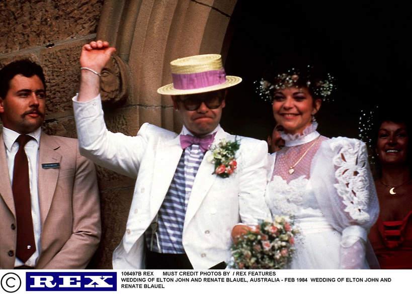Elton John, Blauel