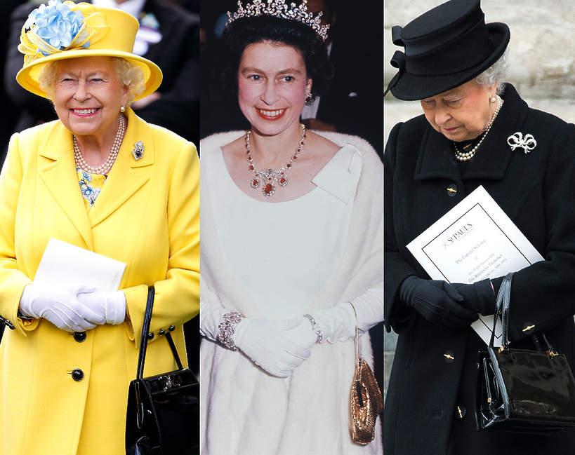 Elżbieta II daje znaki swoją torebką