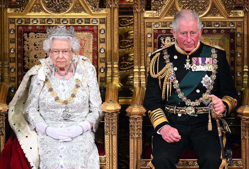 Elżbieta II, książę Karol, 2019