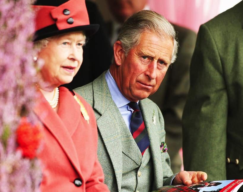 Elżbieta II, książę Karol