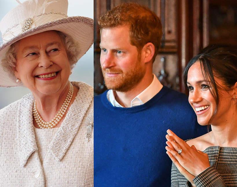 Elżbieta II pogodzi się z Harrym i Meghan?