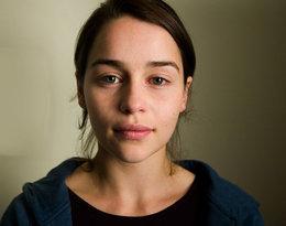 Emilia Clarke bez makijażu