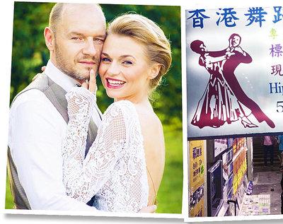 Emilia Komarnicka i Redbad Klynstra podróż poślubna