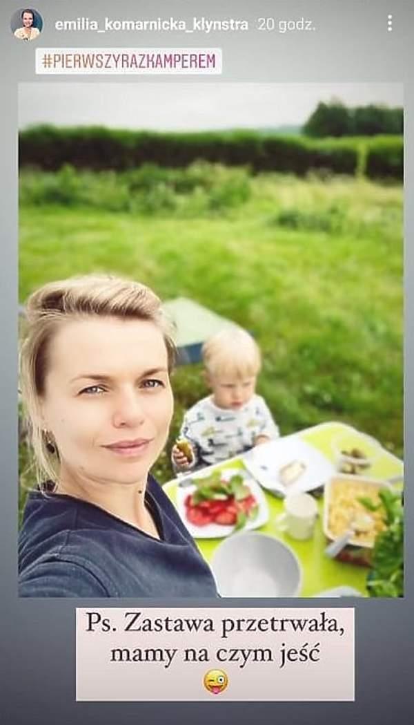 Emilia Komarnicka-Klynstra pokazała twarze synków