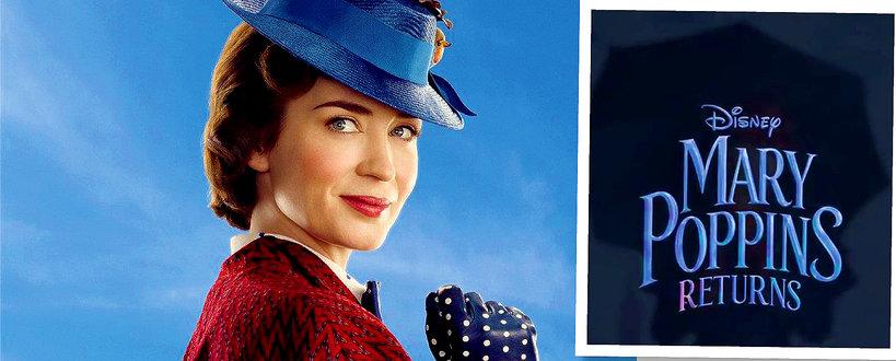 Emily Blunt jako Mary Poppins