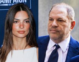 Harvey Weinstein prawdopodobnie uniknie więzienia. Emily Ratajkowski nie odpuszcza