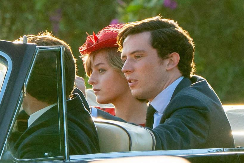 Emma Corrin i Josh O'Connor jako księżna Diana i książę Karol w The Crown