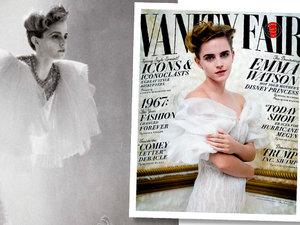 Emma Stone w Vanity Fair