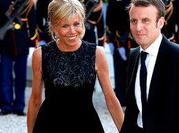 Emmanuel Macaron z żoną MT