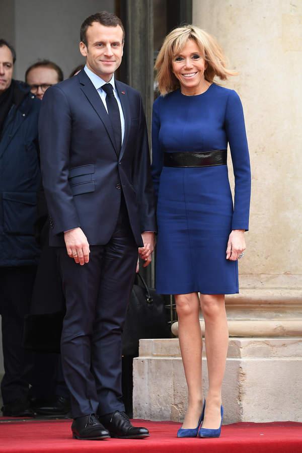 Emmanuel Macron żona