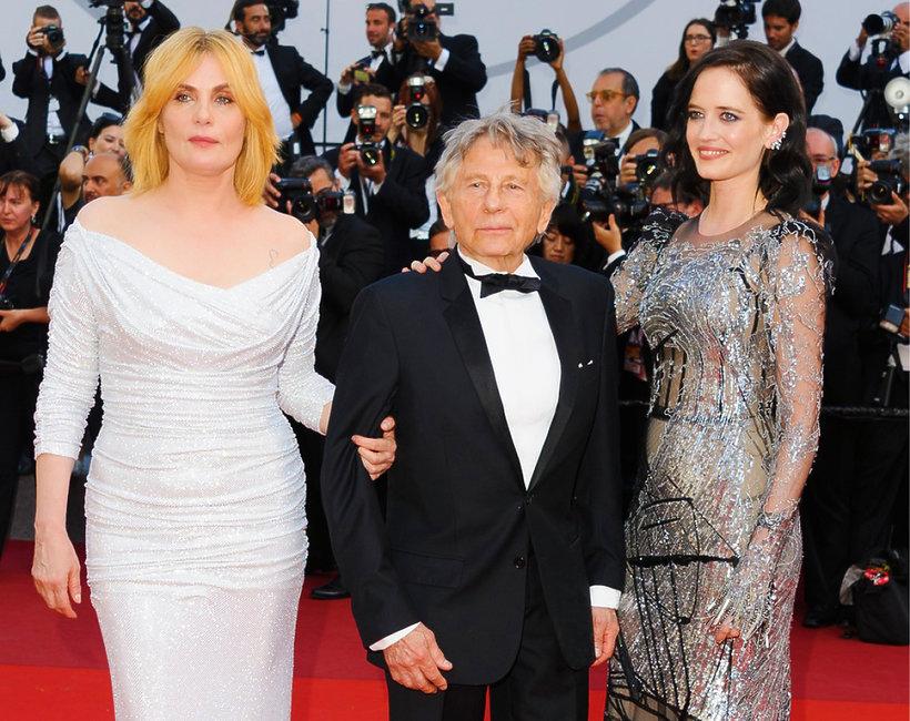 Emmanuelle Seignier, Roman Polański, Eva Green, Cannes 2017