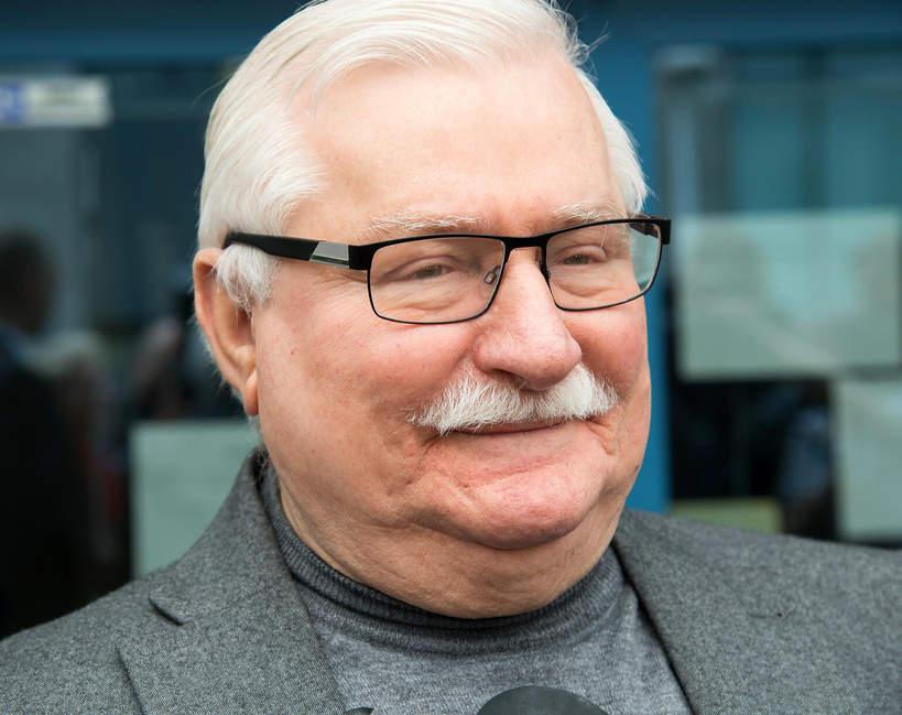 Lech Wałęsa po operacji
