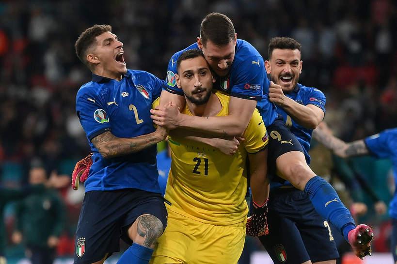 EURO 2020: bramkarz reprezentacji Włoch najlepszym zawodnikiem turnieju