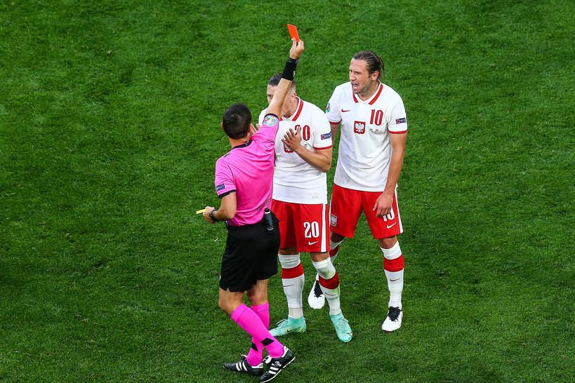EURO 2020: Grzegorz Krychowiak, mecz Polska-Słowacja
