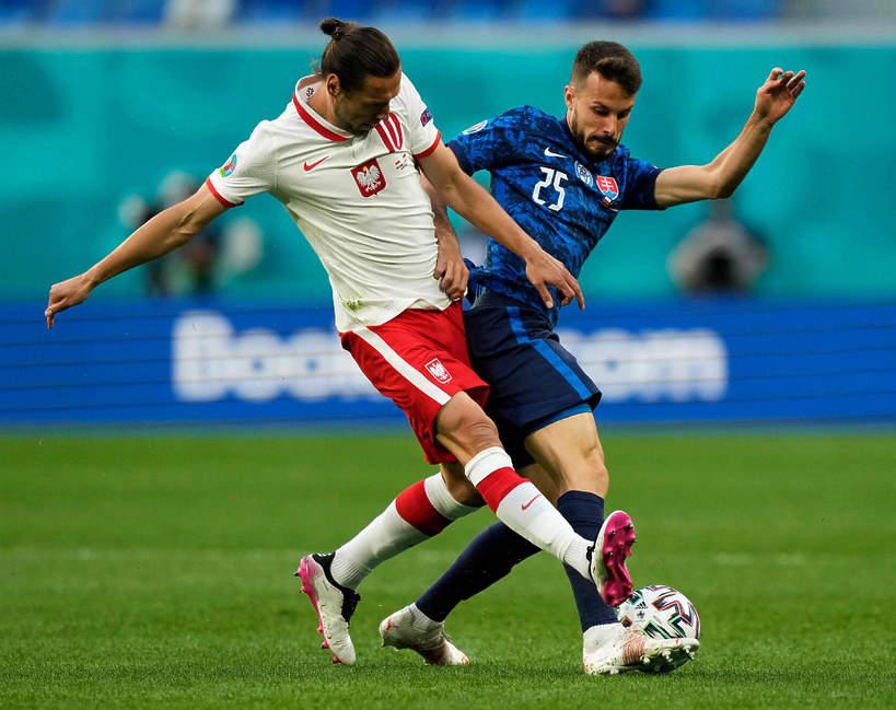 EURO 2020: wynik meczu Polska-Słowacja