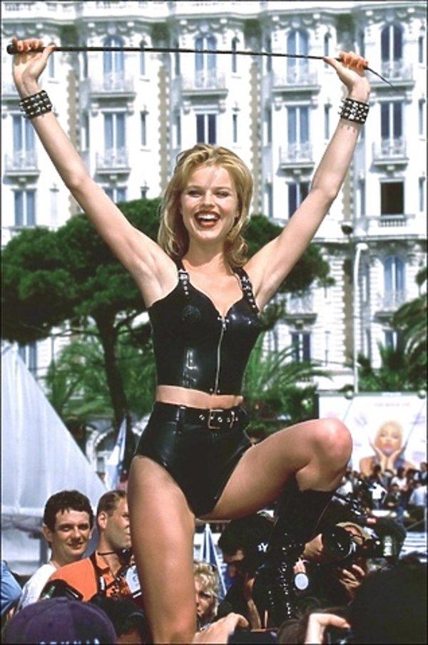 Eva Herzigova w Cannes