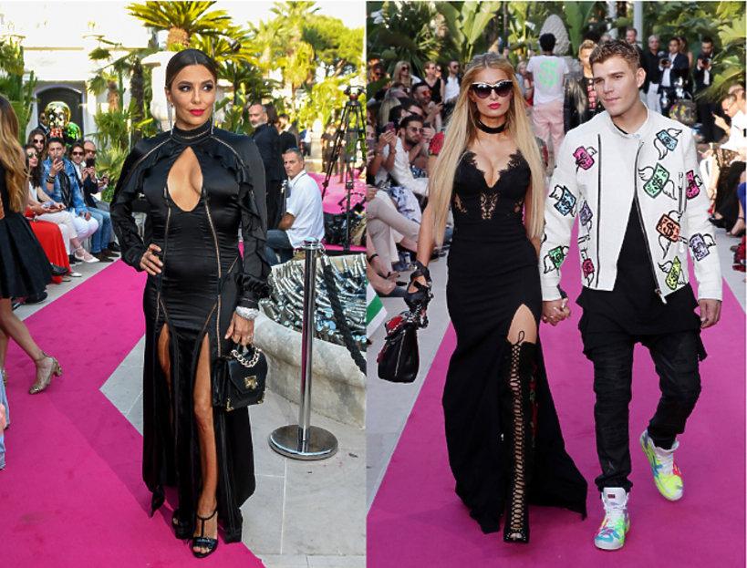 Eva Longoria oraz Paris Hilton z chłopakiem.