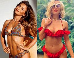 Kto lepiej wygląda w kostiumie kąpielowym - Anna Lewandowska czy Ewa Chodakowska?