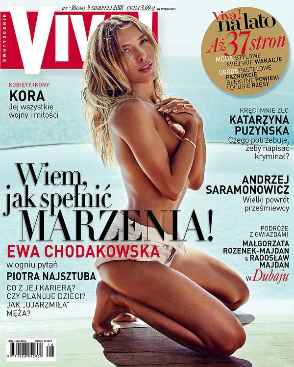 Ewa Chodakowska, VIVA! 16/2018 okładka