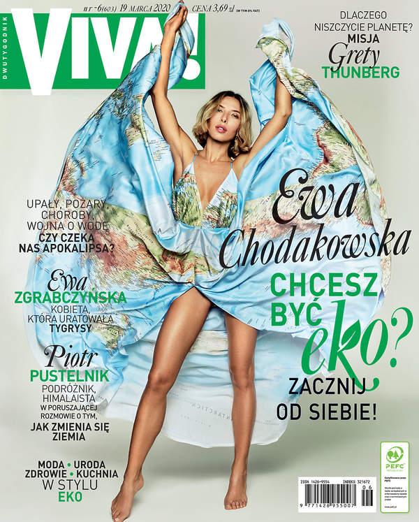 Ewa Chodakowska, VIVA! 6/2020 okładka