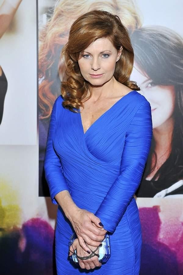 Ewa Skibińska na premierze filmu
