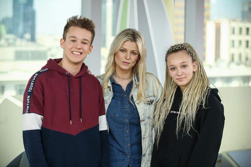 Fabienne Wiśniewska, Marta Wiśniewska, Xavier Wiśniewski, 2018 rok
