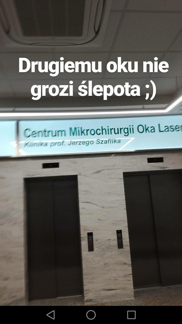 Fanka Popka jednak nie straci wzroku, Fanka Popka, Aleksandra Sadowska, tatuaż oczu
