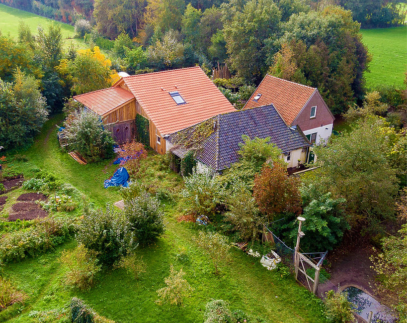 farma w Holandii, rodzina więziona