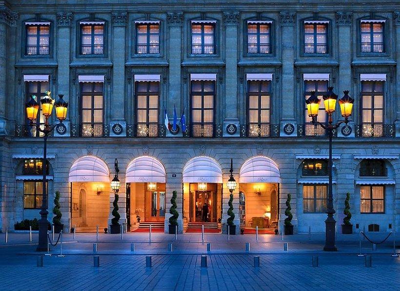 Fasada hotelu Ritz