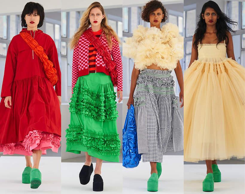 fashion-week-londyn-2020-molly-goddard-wiosna-lato-2020