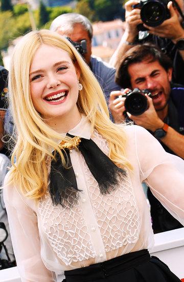 Festiwal Filmowy w Cannes, kulisy, Elle Fanning