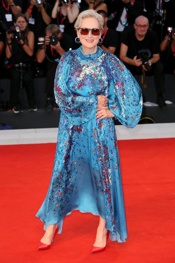 festiwal filmowy w Wenecji 2019, Meryl Streep