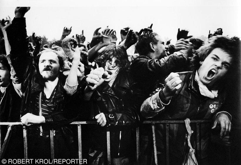 Festiwal w Jarocinie lata 80
