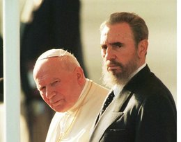 Fidel Castro i Jan Paweł II