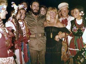 Fidel Castro i Maryla Rodowicz
