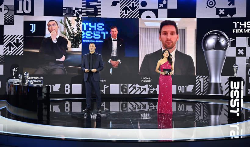FIFA THE BEST, Lewandowski, Ronaldo