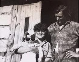 Filip Bobek z mamą