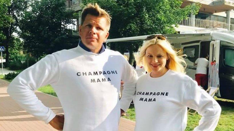 Filip Chajzer i Małgorzta Walczak