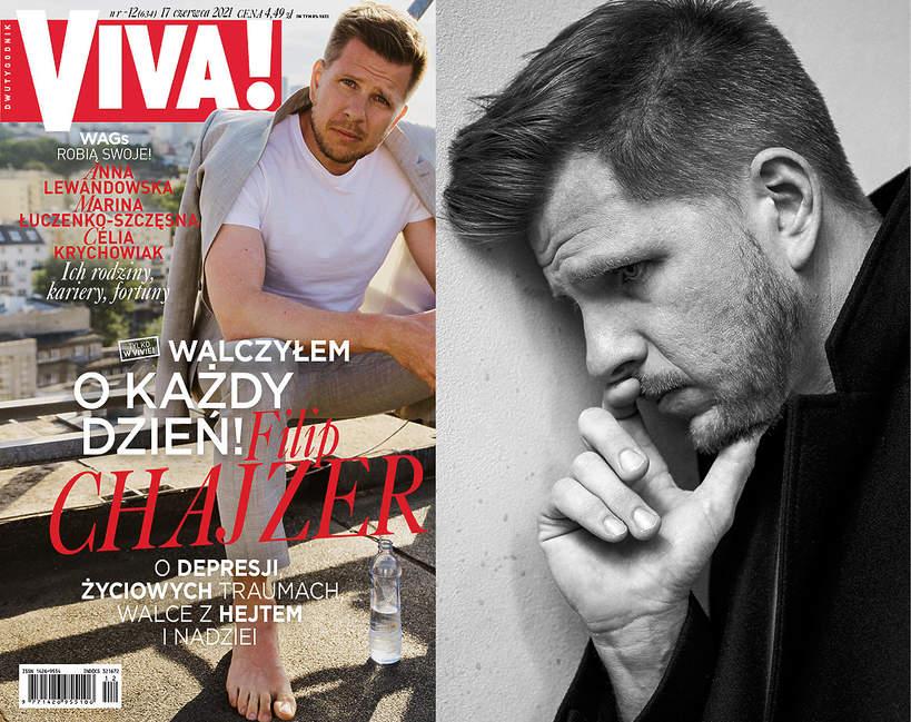 Filip Chajzer, VIVA! 12/ 2021; Filip Chajzer, VIVA! czerwiec 2021