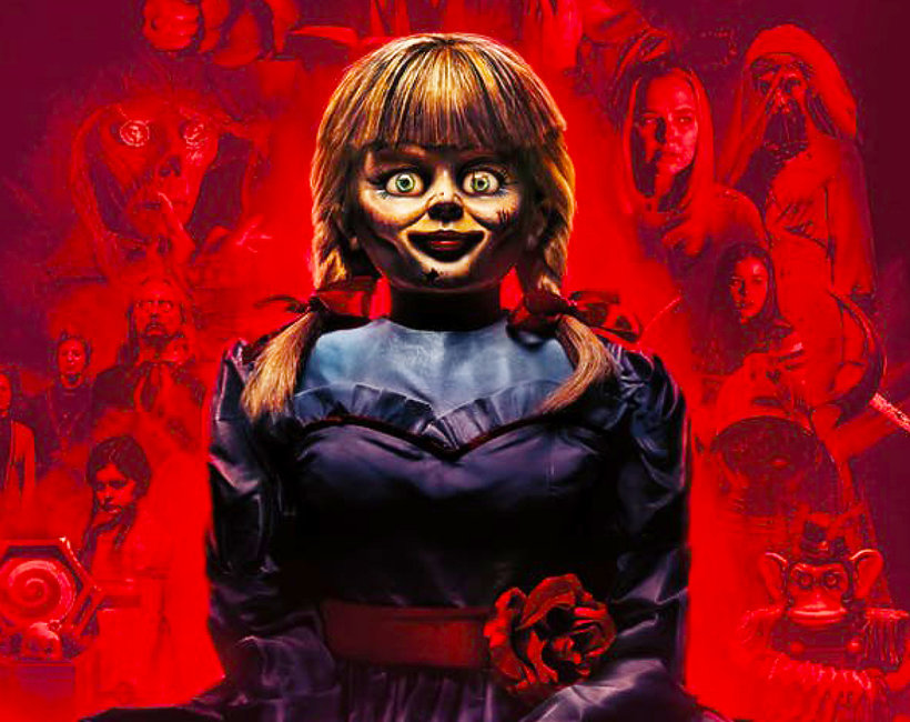 Film Annabelle wraca do domu plakat