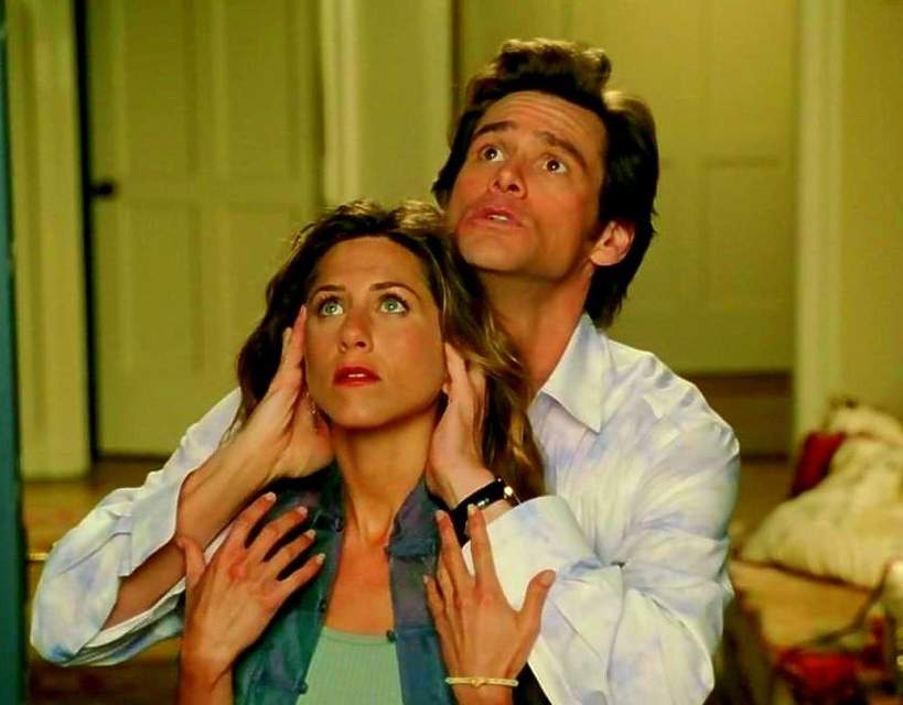 film, Bruce Wszechmogący, Jennifer Aniston, Jim Carrey