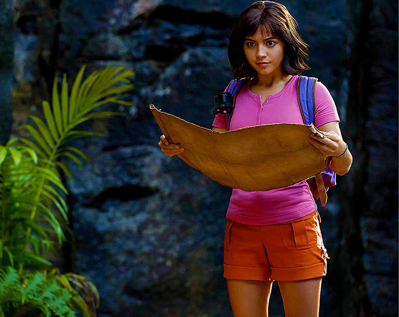 Film Dora i złote miasto