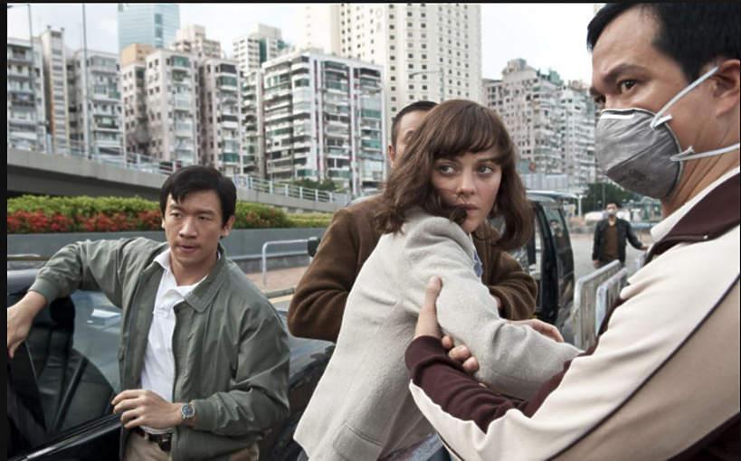 Film o epidemii 2011 Contagion – Epidemia strachu