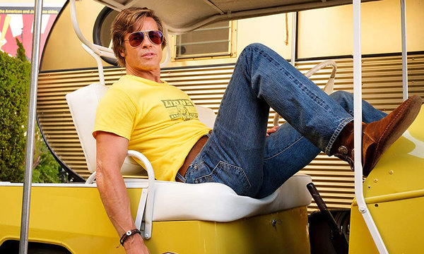 Film Once Upon a Time in Hollywood, Pewnego razu w Hollywood, Brad Pitt