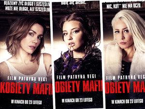 Film Patryka Vegi, Kobiety Mafii, plakaty promujące film