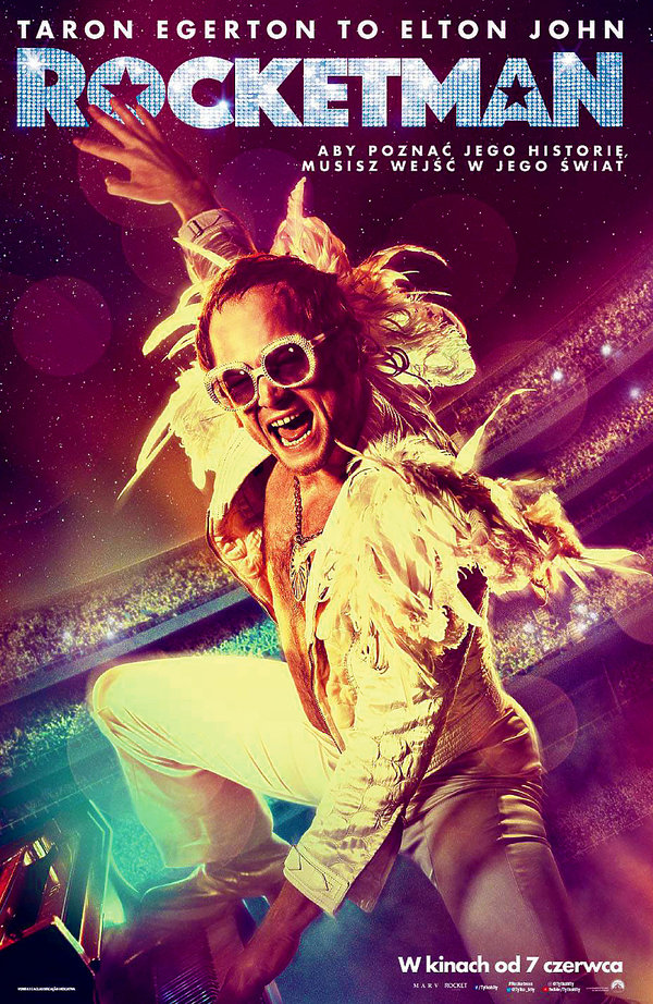Film Rocketman, Elton John