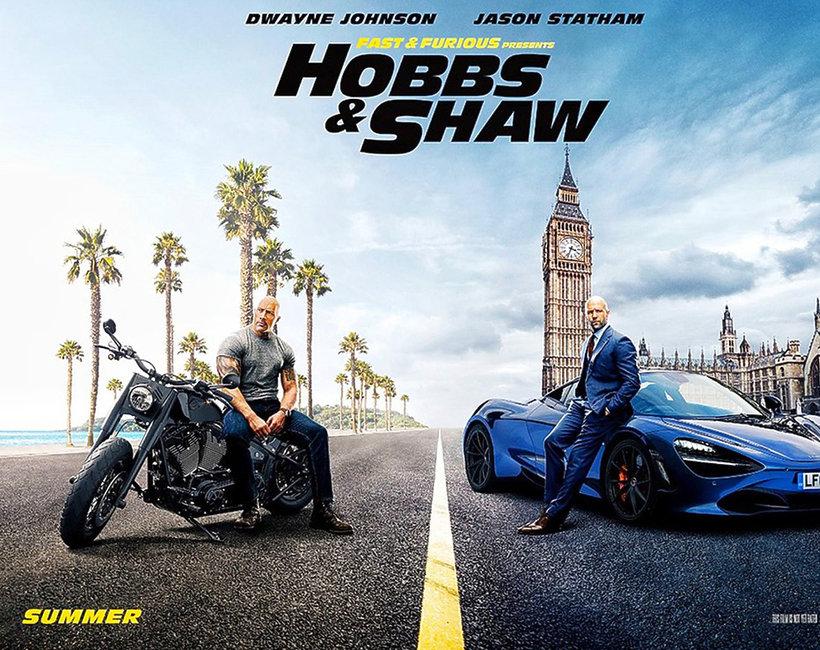 Film Szybcy i wściekli: Hobbs i Shaw plakat