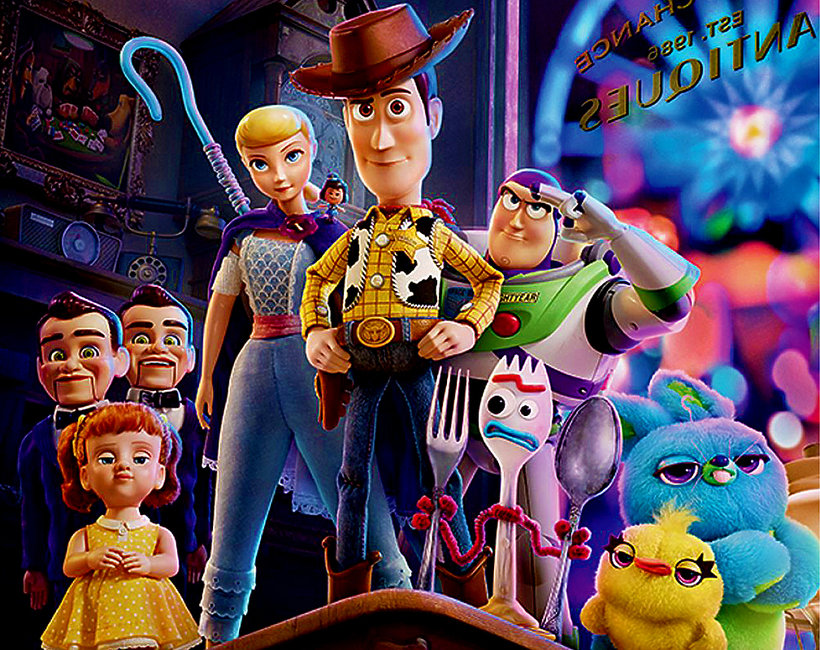 Film Toy Story 4 plakat
