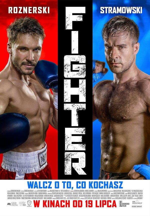 filmu Fighter. Piotr Stramowski, Mikołaj Roznerski